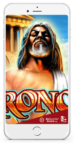 Greek theme slot Kronos