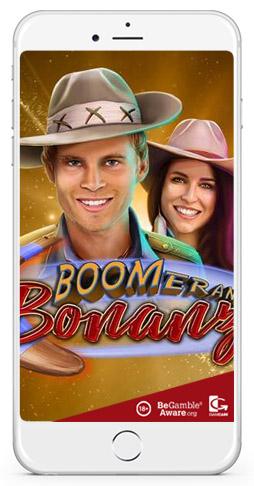 boomerang bonanza winning video slot