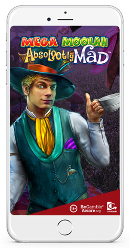 microgaming presents mega moolah absolootly mad mobile slots game