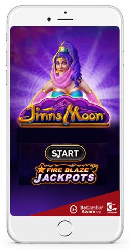 jinns moon slot game by fire blaze jackpots