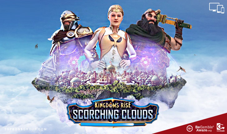 playtech launches new slot Kingdoms Rise Scorching Clouds