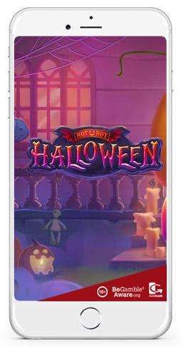 Hot Hot Halloween Habanero smart phone gaming slot