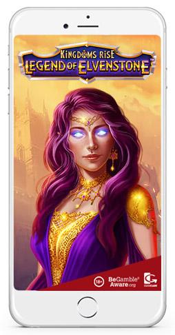 Kingdoms Rise Legend of Elvenstone bonus winning slot