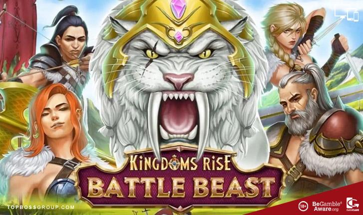 Kingdoms Rise Battle Beast slot Playtech